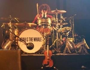 Michael Petulla, the drummer NATW found via Gumtree. Photo by Alessio Paratore.