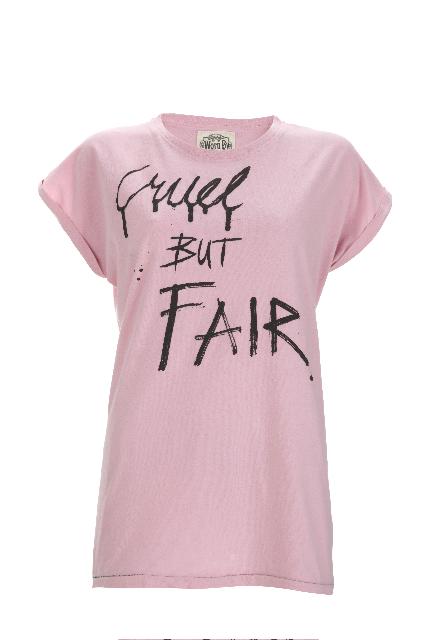 Worn By Womens Cruel But Fair Tee