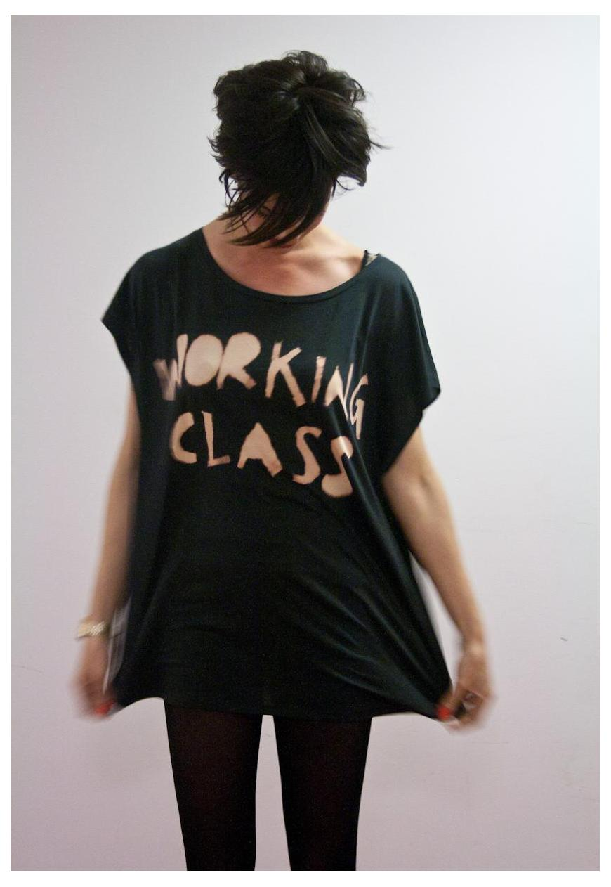'Working class tee'