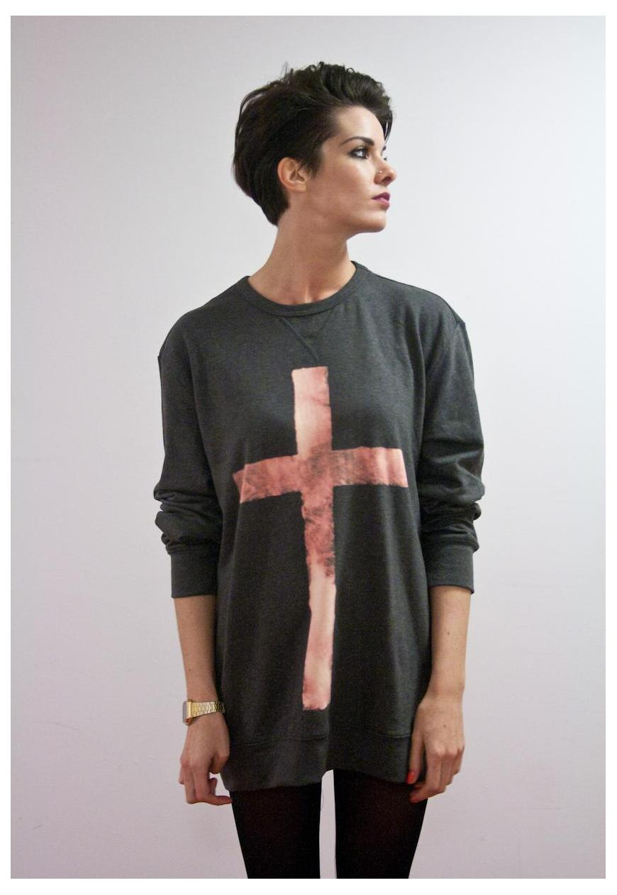 'Crucifix jumper'