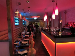 The lovely Namaaste Kitchen is located on Parkway in Camden Town.