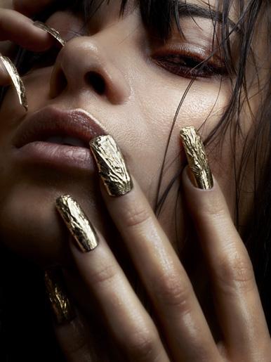 metal nail art