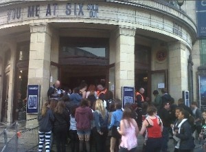 You Me At Six fans at 02 Academy Brixton on Monday night.