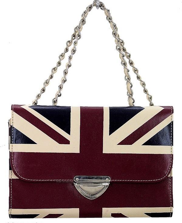 Rubyred Union Jack Handbag