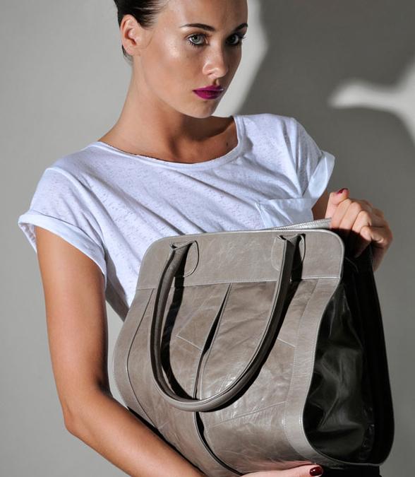 The Carmen Woods leather handbag boutique