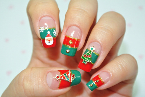Exquisite Christmas Nail Art Your Next Holiday Mani The Upcoming