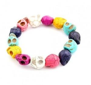 Dollface London skull bracelet