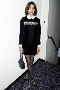 Alexa Chung peter pan collar