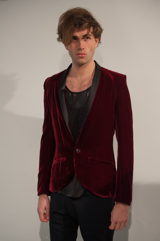 euphorik red blazer