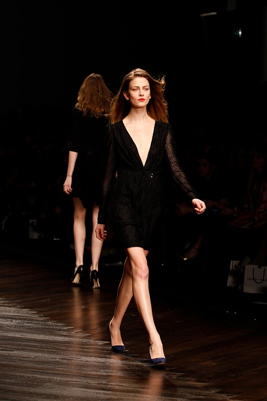Felder Felder Catwalk for the London Fashion Week AW13