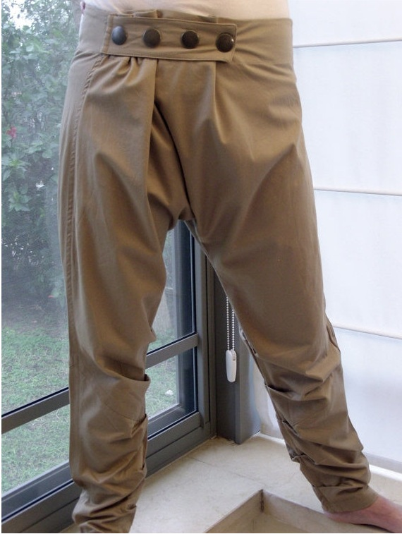 Girlish harem pants