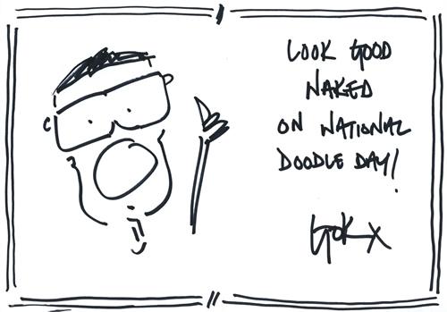 Gok Wan doodle