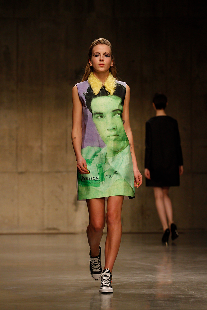 Claire Barrow in the London Fashion Week AW13 - Fashion East Catwalk