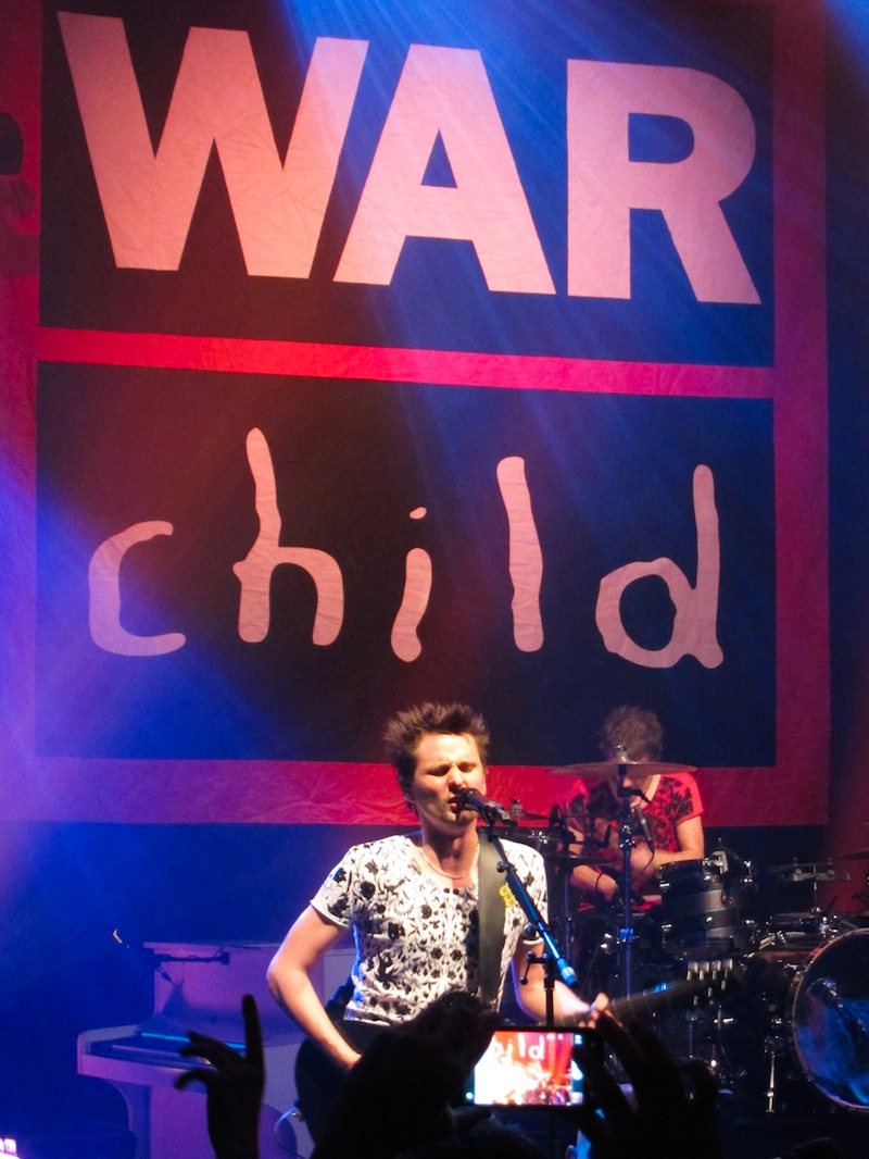 Muse - Proud to support the War Child UK London Evening ...