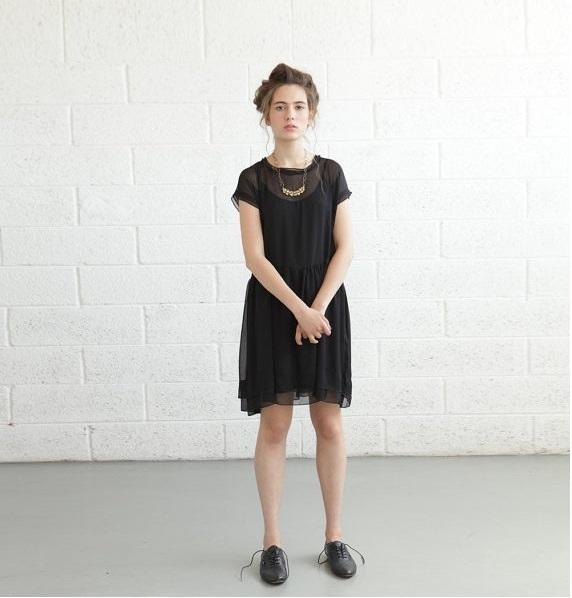 Naftul black dress