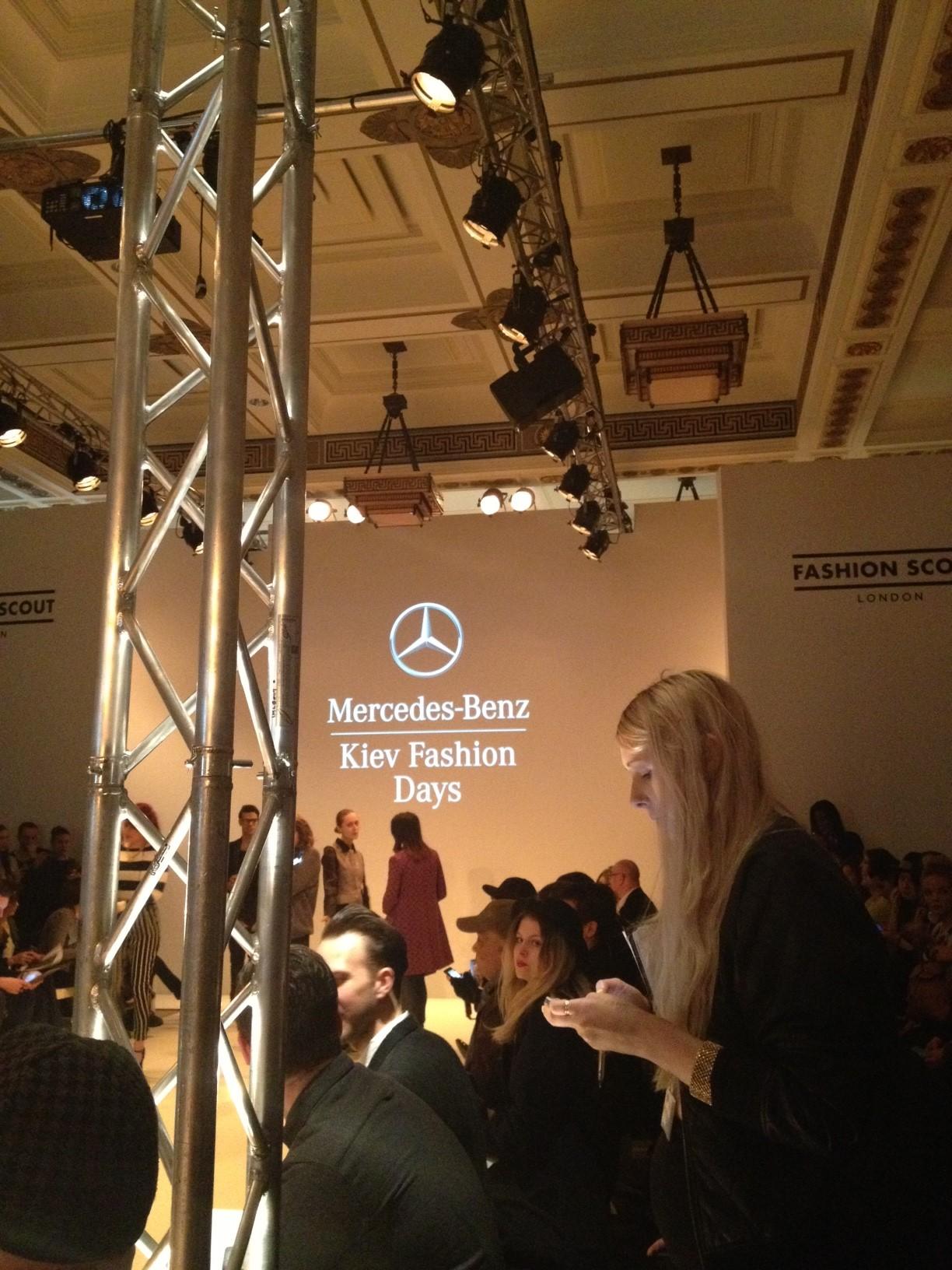 LFW – Mercedes-Benz Kiev Fashion Days A/W 2013 show