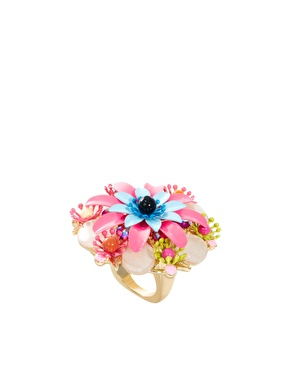 ASOS Rosetti Floral Ring