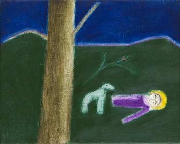 Saint with Dog (1985)