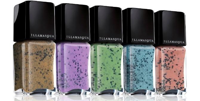 Illamasqua Speckled Nail Polish Range