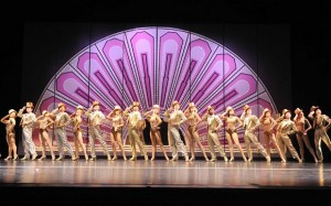 'One' performed in A Chorus Line. Photo: Manuel Harla