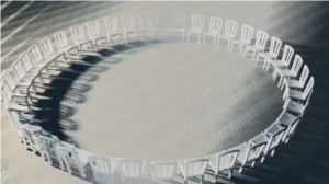 Ring of chairs by Fuel