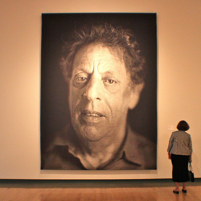 Chuck Close – Process & Collaboration at White Cube ...