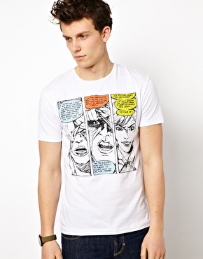The high street welcomes the influence of Pop Art into the world of fashion. (4)