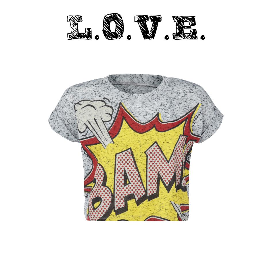 The high street welcomes the influence of Pop Art into the world of fashion. (1)