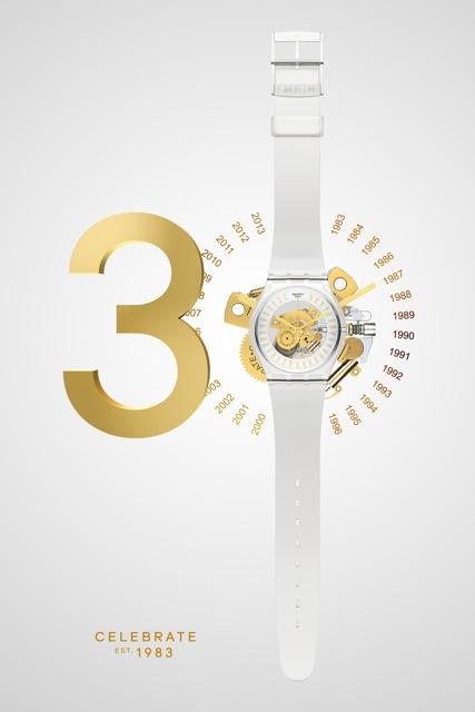Swatch celebrates 30 years. (2)