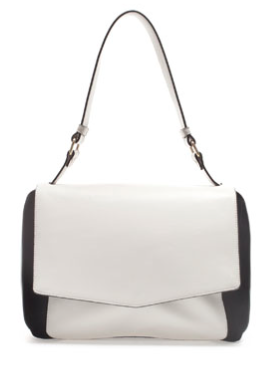 Suede Combination City Bag, £49.99 (ZARA)