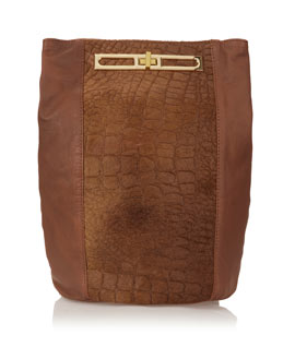 Croc Faux Pony Backpack, £70 (Topshop)