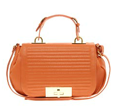 Large Front Lock Shoulder Bag, £30 (ASOS)