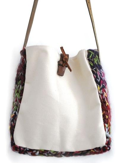 Cut out girls satchel