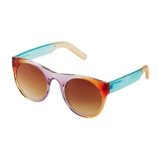 Drop Lense Round Sunglasses