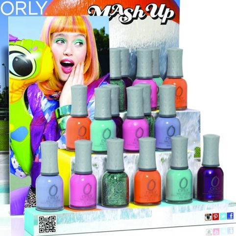 Orly Summer 2013 Mash Up Collection Shade Information