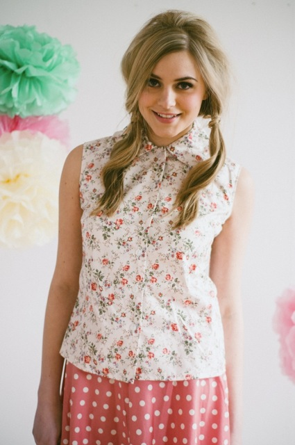 PP floral shirt