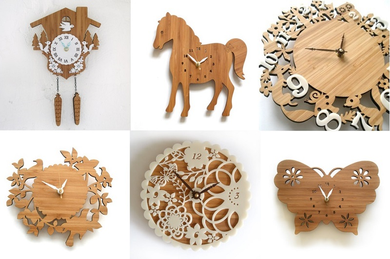 Decoylab Laser Cut Clocks Jewellery And So Much More
