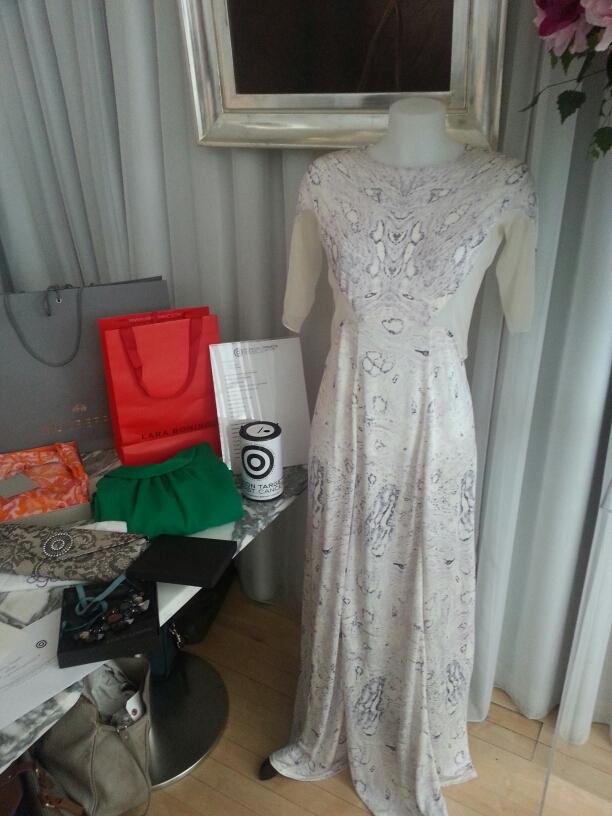 Cancer cell dress from Velvet Johnstone