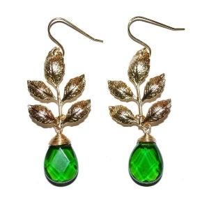 Priv branch earrings