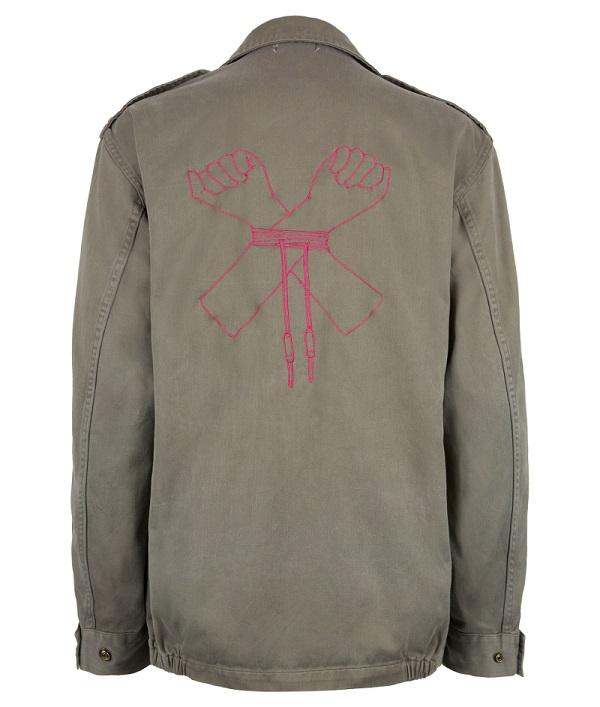 Client khaki jacket_BK