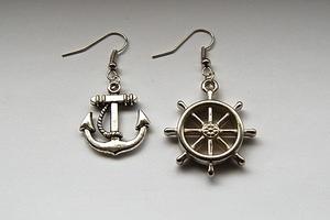 LAS nautical earrings