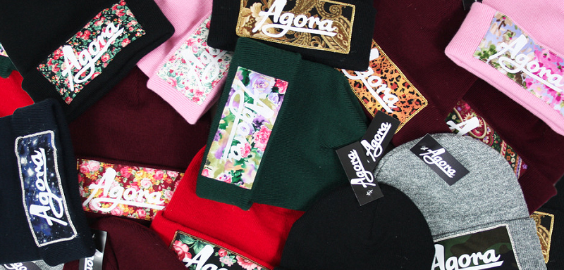 The brand also has a collection of beanies with panels of fun and colourful  patterns ready for winter. Beanies are also available in custom fabrics and  in a ... d477fc614b6c
