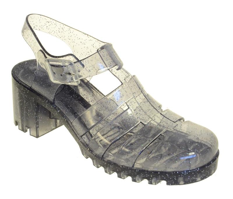 49c4f55943d Top 10 Punto Medio Noticias | Glitter Jelly Shoes Heels