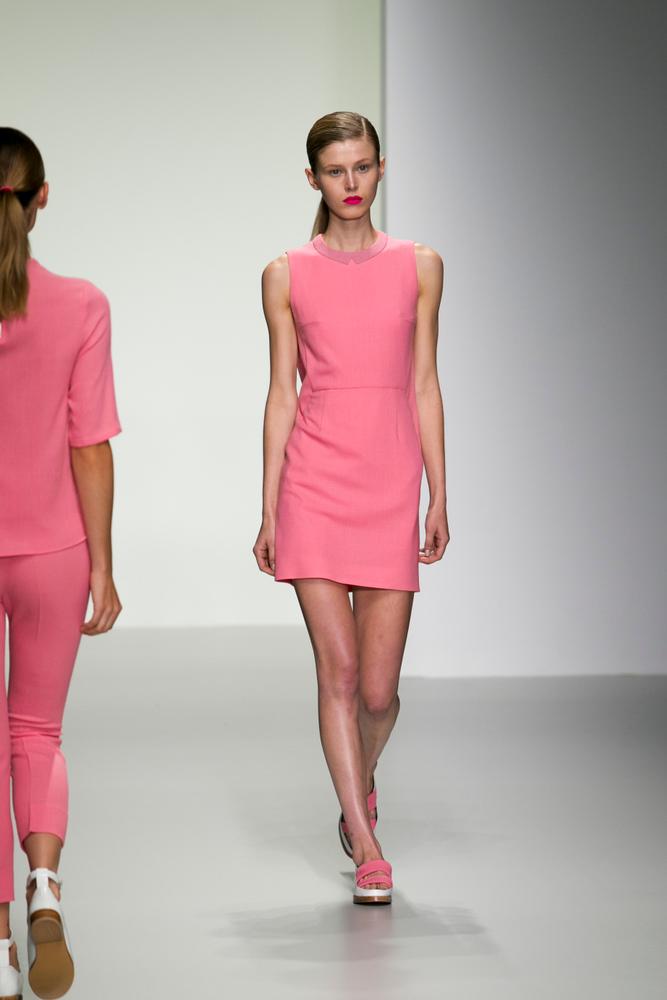 London Fashion Week SS14 - J. JS Lee Catwalk