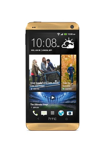 Gold HTC One2