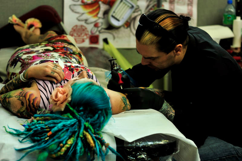 London tattoo convention a visual spectacle of for Upcoming tattoo conventions
