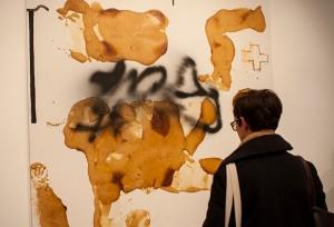 Hantai Hartung Exhibition 6-Timothy Taylor Gallery-Adam Bennett