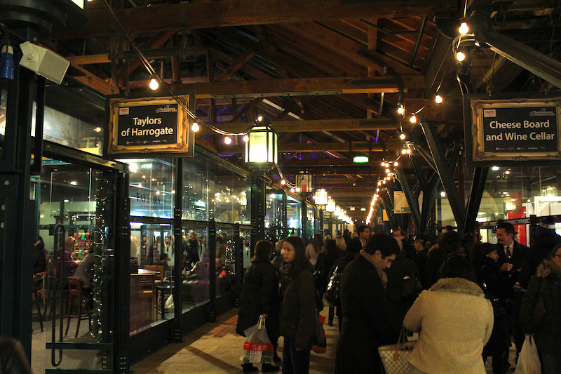Taste of Christmas 2013 at Tobacco Dock – The Upcoming