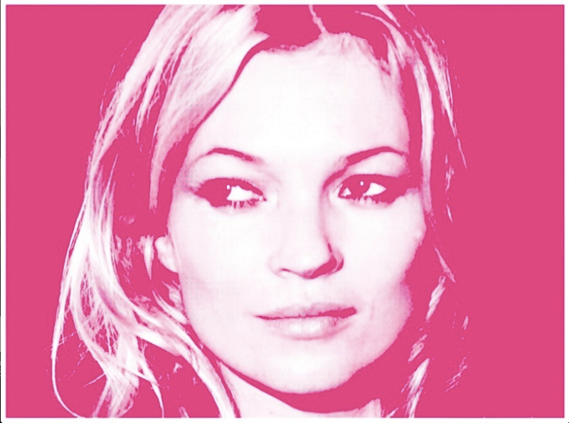 Kate Moss pink