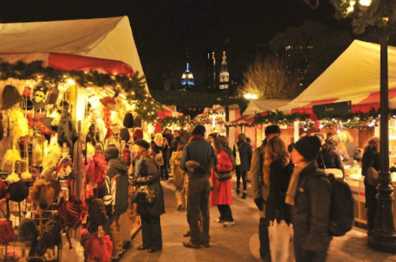 Christmas Market New York City.Nyc Five Best Christmas Markets 2013 The Upcoming
